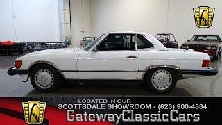 1988 Mercedes Benz 560SL, Gateway Classic Cars  Scottsdale #291