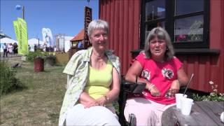 Susanne og Inger evaluerer møder med DA, DE, DI Folkemøde 2015