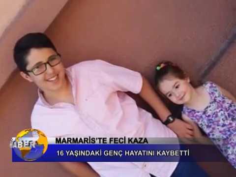 MARMARİS'TE FECİ KAZA