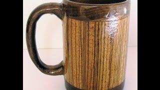 Woodturners Journal: Turning A Segmented Mug