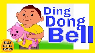 Ding Dong Bell | Cartoon Kids English Nursery Rhymes | HD Animated Songs For Children