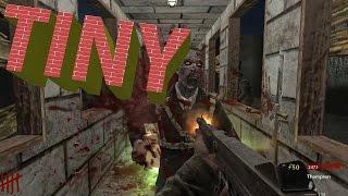 """COD WAW : Custom Zombies """"Tiny"""" very tight MAP!!"""
