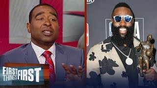 Cris Carter on why Houston's Harden deserved NBA MVP over LeBron James | NBA | FIRST THINGS FIRST