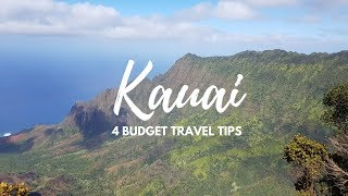 Kauai  Budget Travel Tips