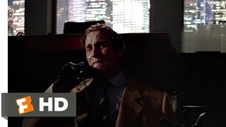 American Psycho (11/12) Movie CLIP - A Pretty Sick Guy (2000) HD