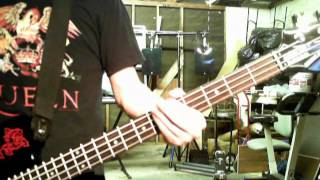 """""""Another Journey By Train"""" by The Cure (Bass) -Brian Soto"""