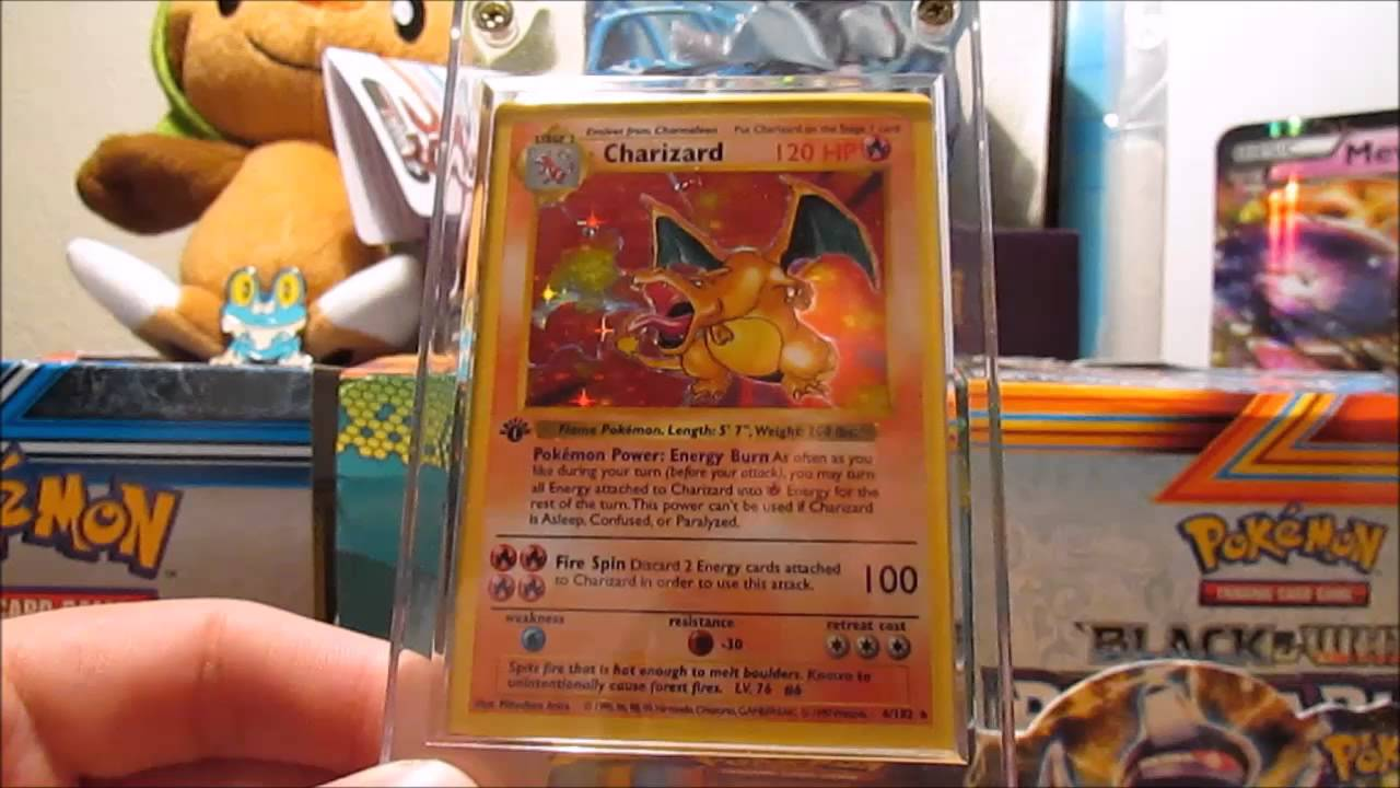 Code Card Giveaway & 1st Edition Shadowless Charizard!!!!!