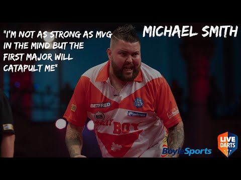 """Michael Smith: """"I'm not as strong as MVG in the mind but the first major will catapult me"""""""