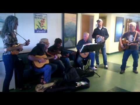 Alaskan Marine  live music on Columbia ferry August 2016