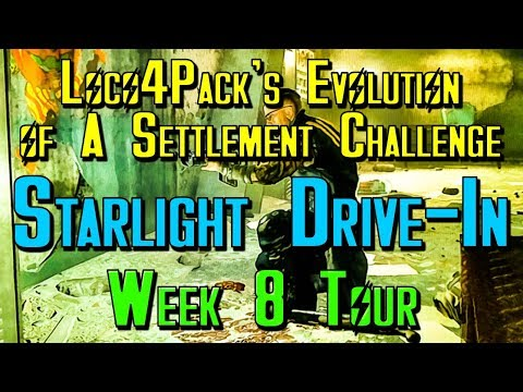 Fallout 4 Lets Build: Evolution of a Settlement Challenge 8 Week Tour