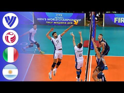 Italy vs. Argentina - Full Match | Round 1 | Men's Volleyball World Championship 2018