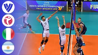Italy vs. Argentina - Full Match | Round 1 | Men's Volleyball World Championship 2018