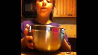 Girl's Cooking Show Fails After She Puts Metal Bowl In Th...