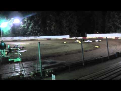 Street stock/sportsman main #2 on 9/27/2014 at River city speedway