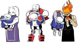 【 Undertale Animation Dub Part 13 】Epic Undertale Comic dubs Compilation