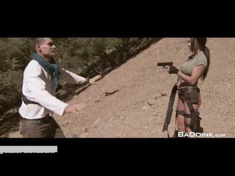 Meeting of Tomb Raider (Peta Jensen) and...