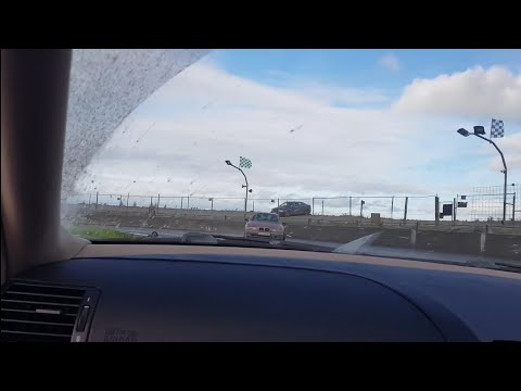Nutts Corner Drift Head NI Bmw 320i (onboard) drifting 15/10/17