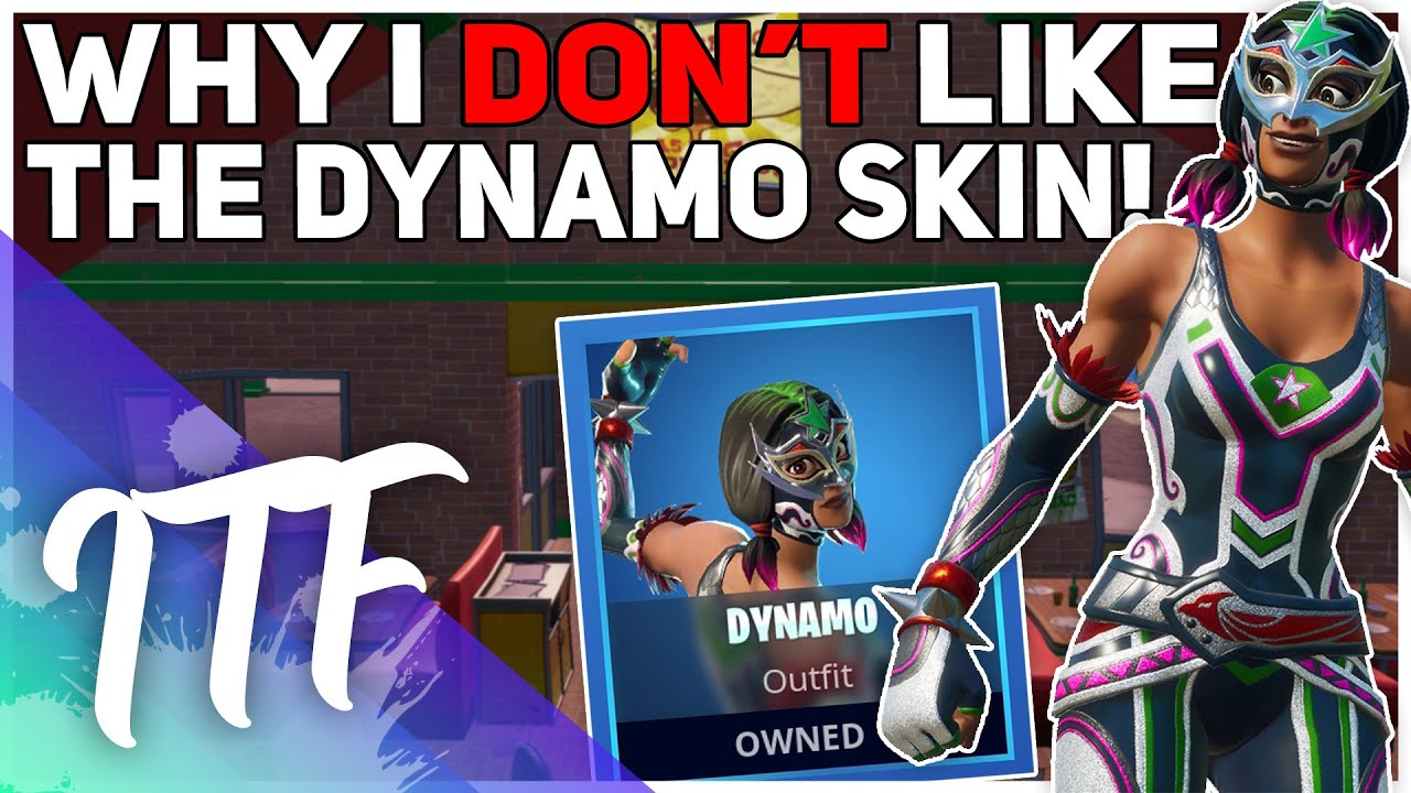 Why I Don't Like Dynamo Anymore. (Fortnite Battle Royale)