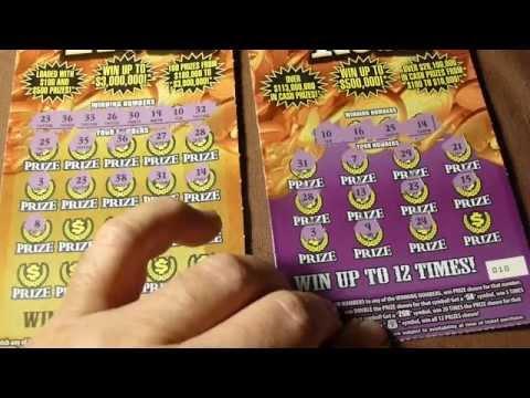 Fl lottery goldrush scratchoff battle!!! SUSPENSE!!
