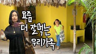 요즘 더 잘먹는 우리가족?부탇해 쭈꾸미, 김밥, LA갈…