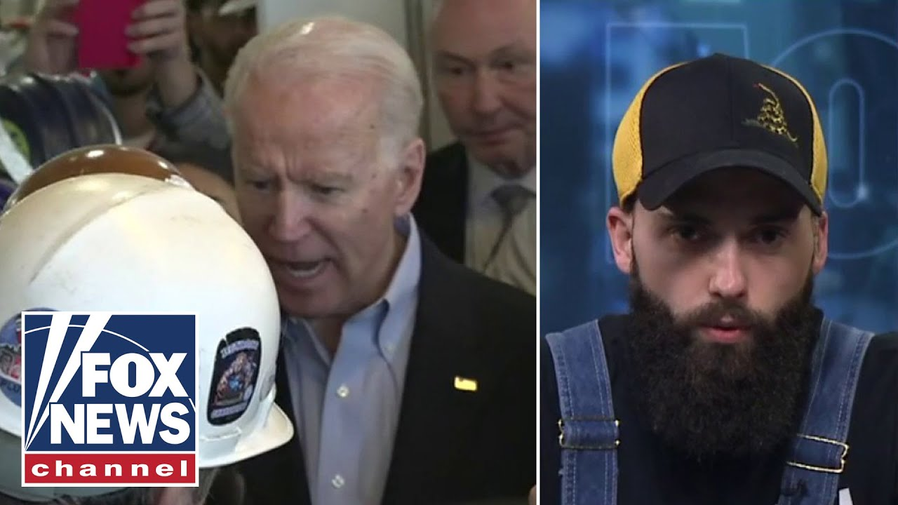 Detroit auto worker who Biden snapped at over guns speaks out on
