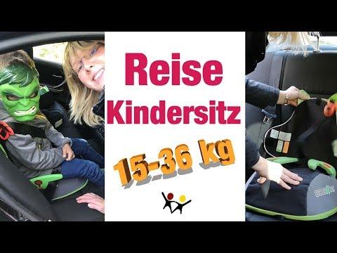 Kindersitze Im Urlaub | Reise-Kindersitz BoostAPak | 15-36 Kg