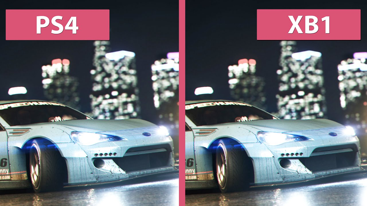 need for speed ps4 vs xbox one graphics comparison. Black Bedroom Furniture Sets. Home Design Ideas
