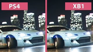 Need For Speed PS4 vs. Xbox One Graphics Comparison FullHD 60fps