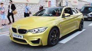 BMW M4 Ride In Monaco! Nice Sound!