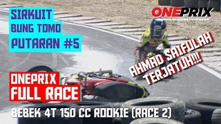 [HD] Full Race 2 Rookie Bebek 4T 150 CC Tune UP Injection || One Prix Putaran #5