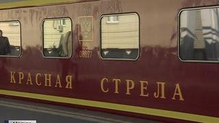 Фото Красная стрела легендарный экспресс 85 лет в пути