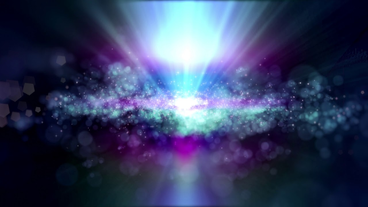 4k Cyan Purple Glowing Space Moving Background Aavfx Stars Live Wallpaper
