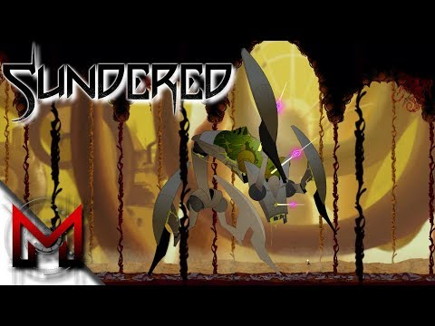 SHIELD, DOUBLE JUMP, PERKS & FIRST MINI BOSS! -=- SUNDERED GAMEPLAY -=- Ep1