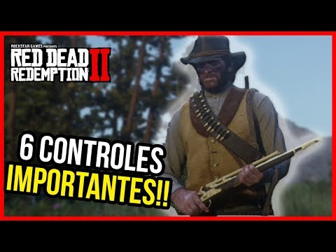 RED DEAD REDEMPTION 2: 6 CONTROLES IMPORTANTES!! 🔥 Guia RDR2 gameplay español