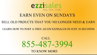 How to post free ad on ezzisales in 30 seconds