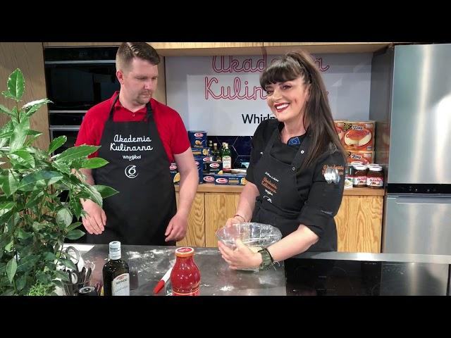 Gotowanie w Akademii Kulinarnej Whirlpool – Cristina Catese &  Krzysztof