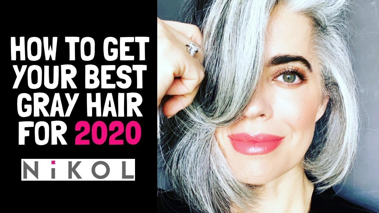 HOW TO GET YOUR BEST GRAY HAIR FOR 2020 | MY TOP 4 TIPS | Nikol Johnson