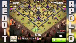 Reddit Apollo - Importance of Cleanup Troops (TheWatermelon) (Clash of Clans)