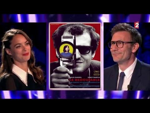 Michel Hazanavicius et Bérénice Béjo  On n'est pas couché à Cannes 27 mai 2017 ONPC