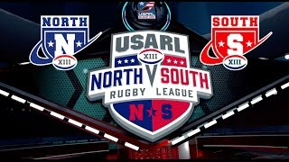 USA Rugby League - North vs. South All-Star Game 2016