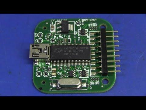 EEVblog #436 - Saleae USB Logic Analyser Review & Teardown