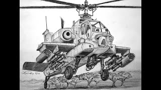 How to Draw an Apache Helicopter