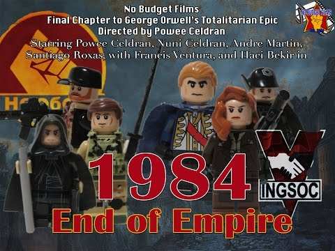 "1984 Part III ""End of Empire""- Sequel to 1984 by George Orwell (Lego Film)"