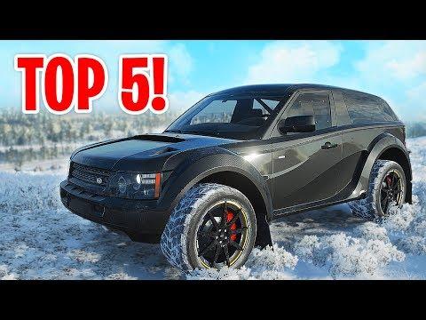 Mijn TOP 5 BESTE OFFROAD AUTOS in Forza Horizon 4! thumbnail