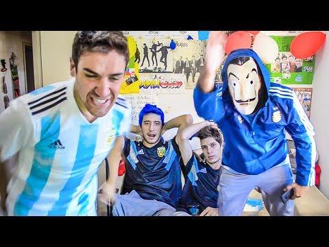 España 6 Argentina 1 | Reacciones de Amigos | Partido Internacional 2018