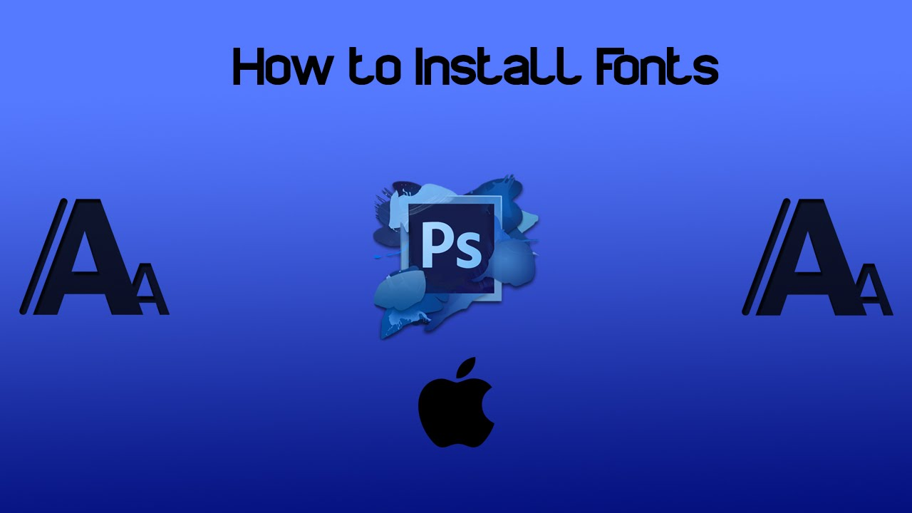 How to install fonts on photoshop cs6 mac youtube how to install fonts on photoshop cs6 mac ccuart Choice Image