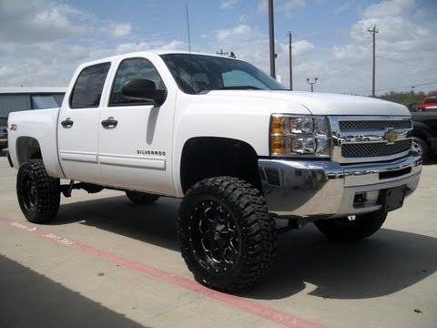 2013 chevy silverado 1500 lt z71 lifted truck 4 sale youtube. Black Bedroom Furniture Sets. Home Design Ideas