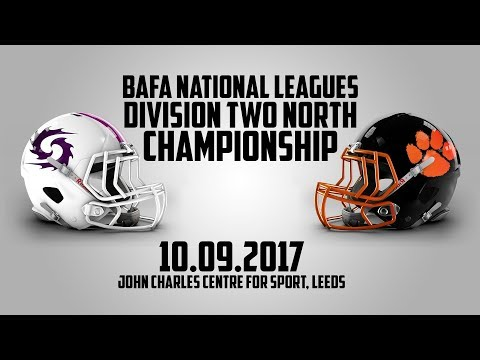 BAFA National Leagues Division Two North Final 2017 - Shropshire Revolution vs Glasgow Tigers