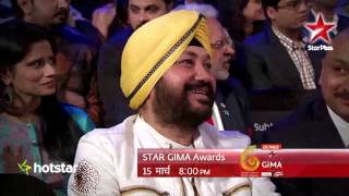 Mika performs at STAR GIMA Awards, 15th March 8 PM on STAR Plus