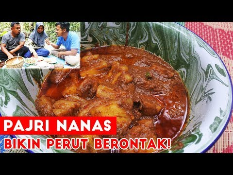 Yakin Gak Tergoda Pajri Nanas Makanan Khas Melayu ???